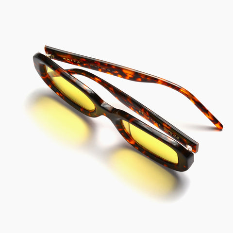 Akila Eyewear Verve Sunglasses in Tortoise / Yellow