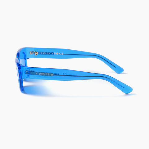 Akila Eyewear x Rokit Zed Sunglasses in Blue / Blue