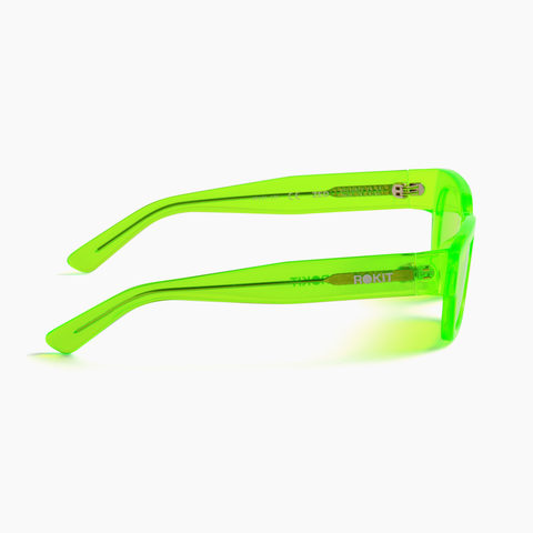 Akila Eyewear x Rokit Zed Sunglasses in Green / Green