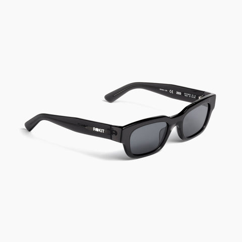 Akila Eyewear x Rokit Zed Sunglasses in Transparent Black / Black