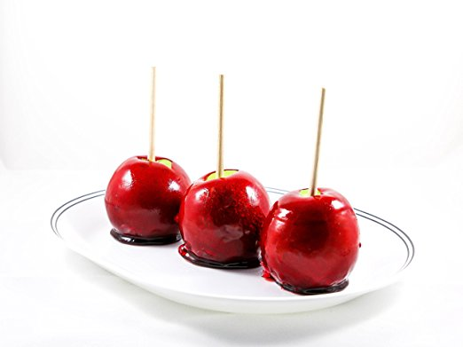 Old Fashion Red Cinnamon Candy Apple (Pack of 3)