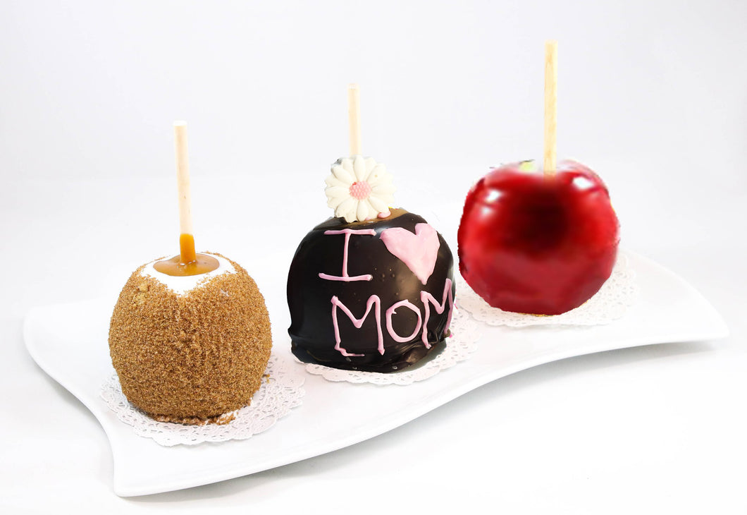 Mother's Day Caramel Apple