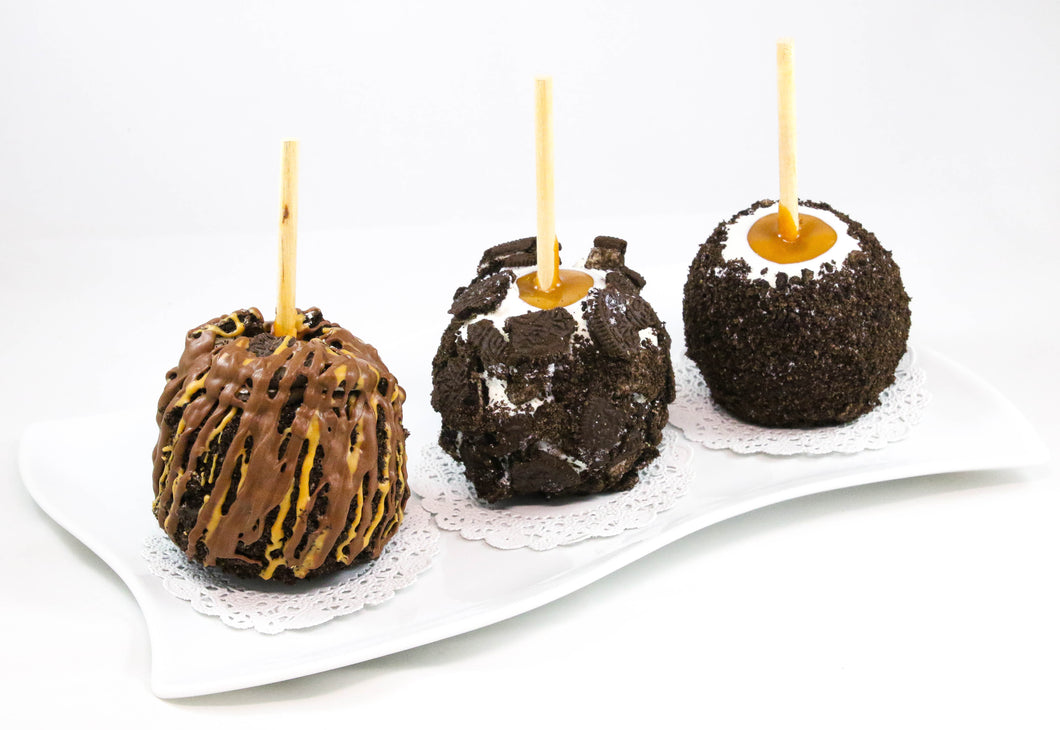Cookies and cream Caramel Apple Pack