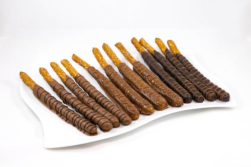 Chocolate Covered Pretzel Sticks