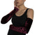 Burgundy Crushed Velvet Arm Sleeves