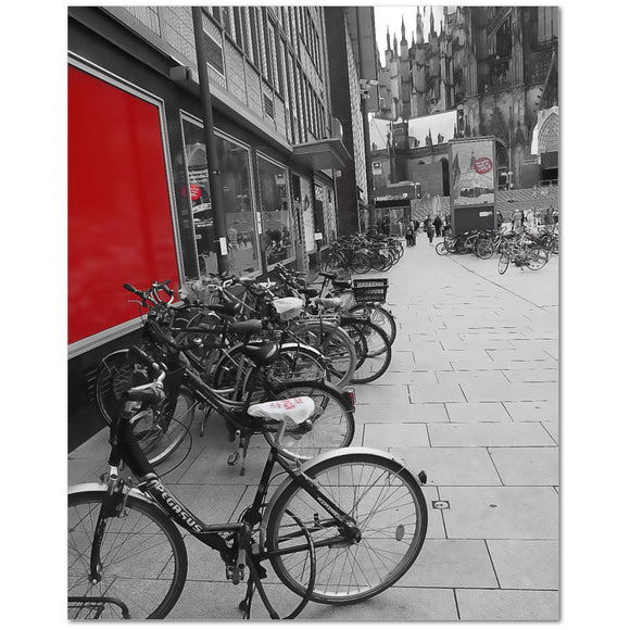 Bikes at the Cologne Church