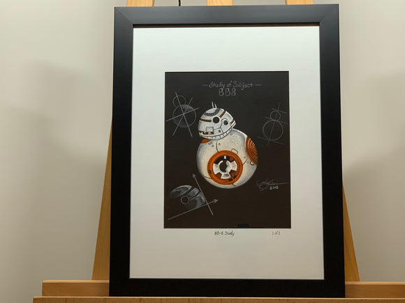 BB-8 Study - Signed Original