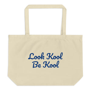 "The ""Koolest"" Large organic tote bag"