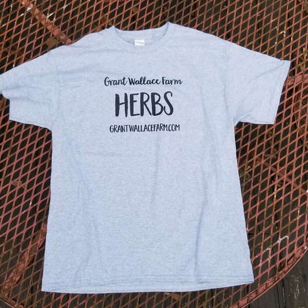 HERBS T-shirt - Heather Grey