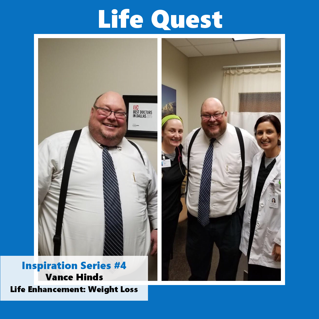 Life Quest Inspiration Series #4: Vance Hinds