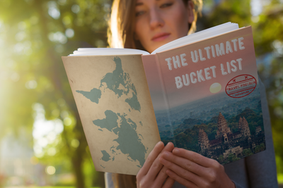 Ultimate Bucket List Book - Travel Edition