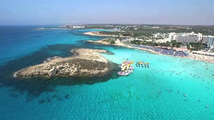 Bonus Ball for a weeks accommodation in Cyprus - Nissi Beach 2019