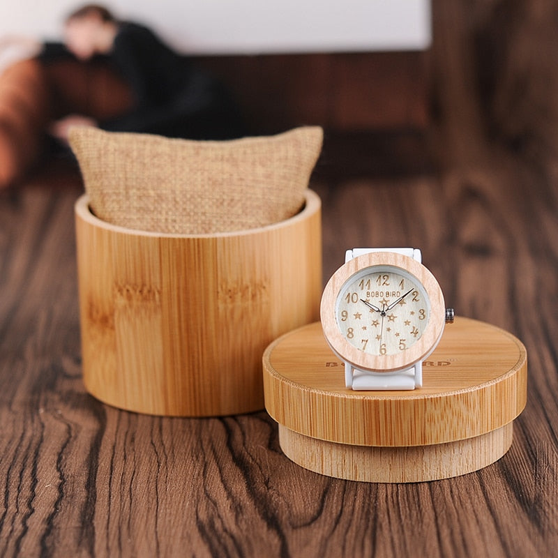 Luxury Wooden Watch - Quartz