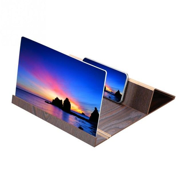 12inch wooden Mobile Video Screen Magnifier High Definition