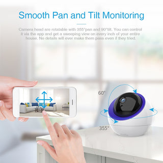 Surveillance Camera Intelligent Auto Tracking Camera Home Security Wireless