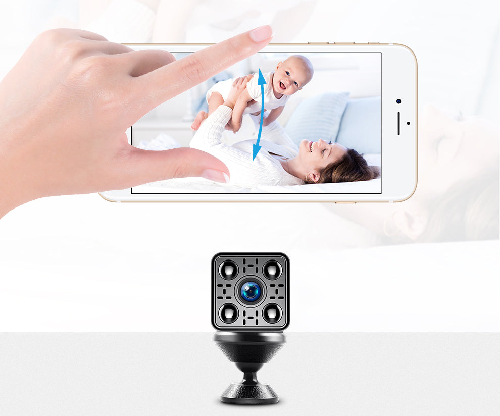 Mini Wireless IP Camera 2.0MP 1080P Home Security Camera Night Vision Motion Detection Surveillance