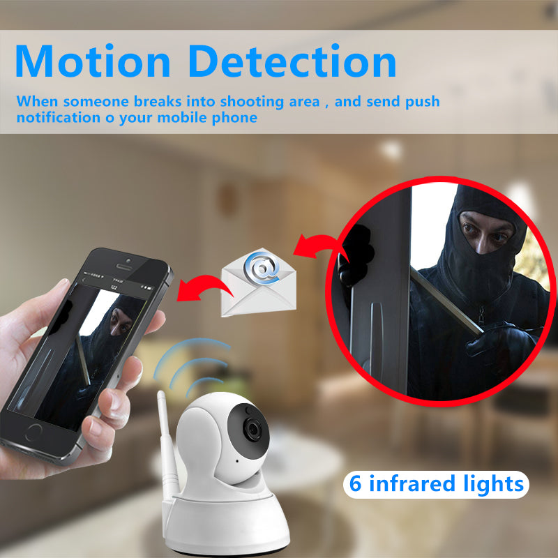 IP Camera Home Security Wireless Mini Camera Night Vision Camera