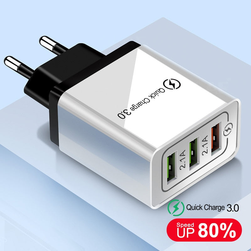 USB Fast Quick Charger 3.0 for All Phone - Best USB Charger 2019