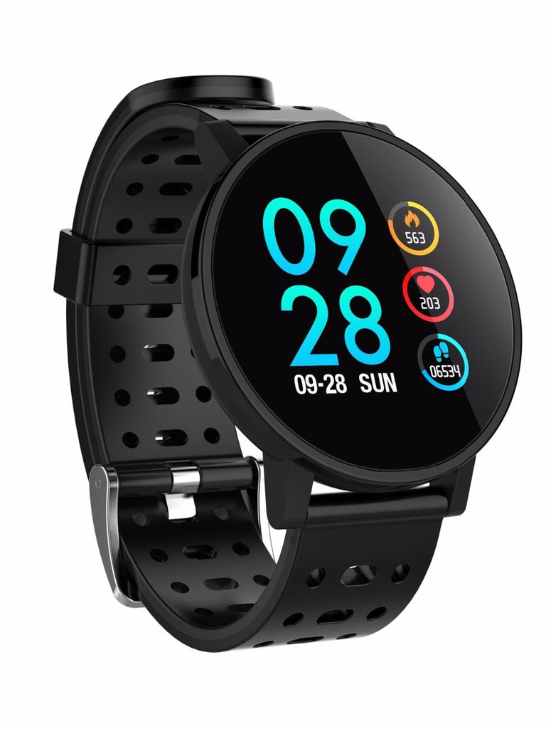 Smartwatch Heart Rate Blood Pressure Monitor Outdoor Waterproof