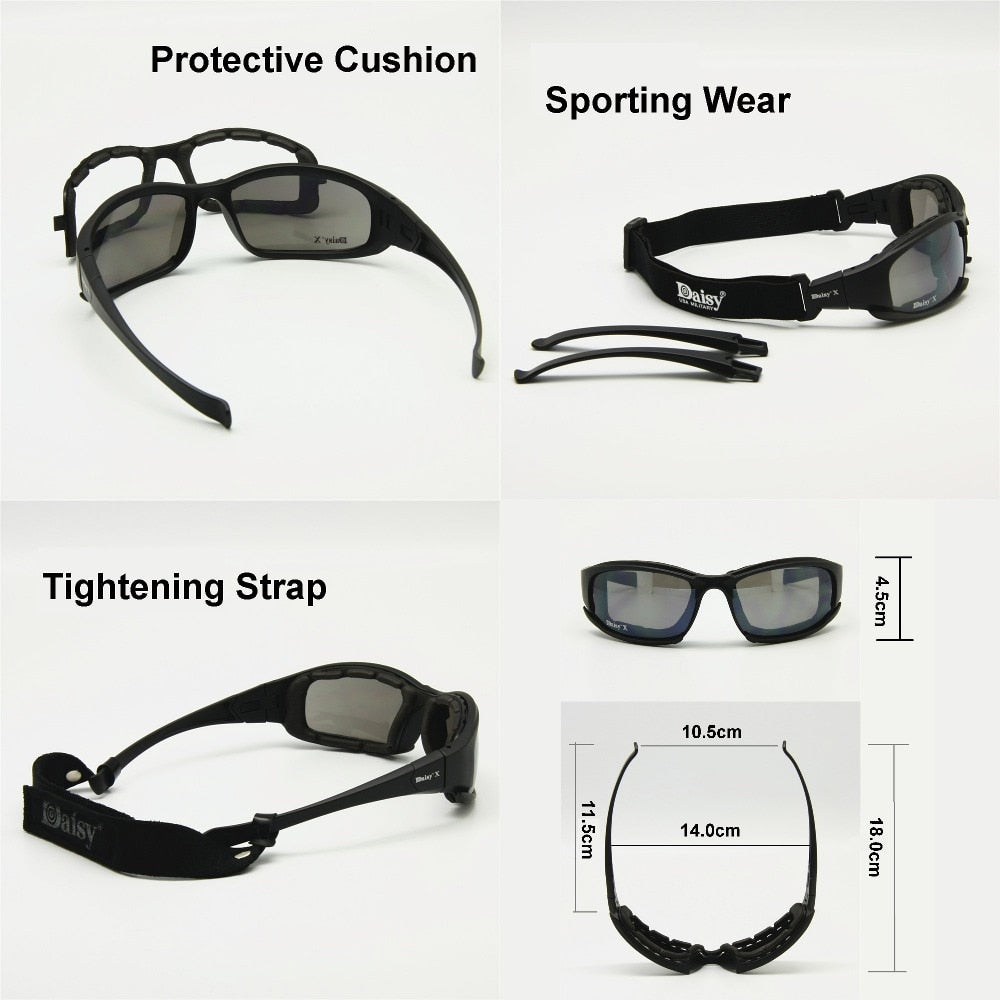 Military Sunglasses Polarized - Best Tactical Men's Glasses Sports