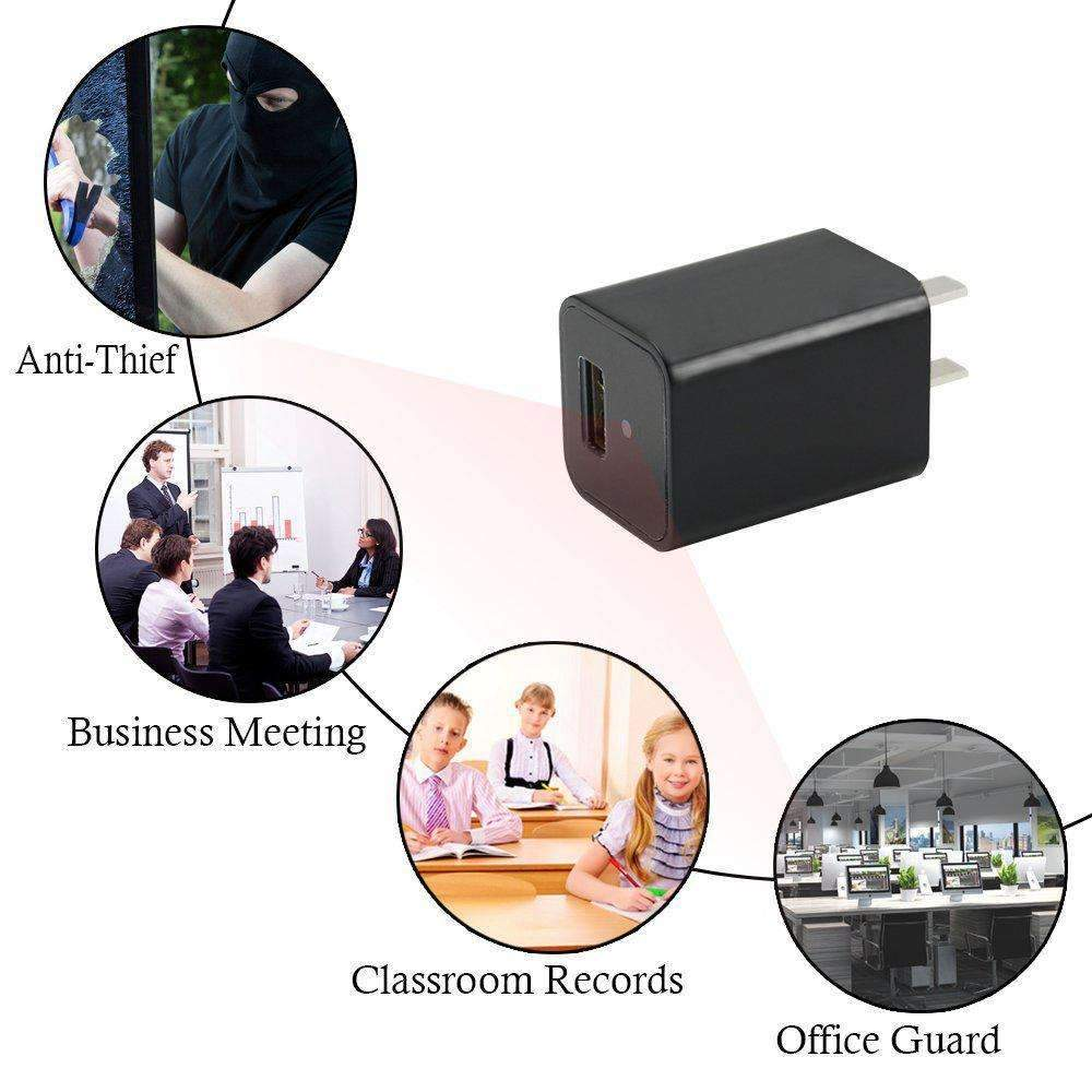 AC/DC Adapters - Mini Smart Camera - Record Anytime Anywhere!