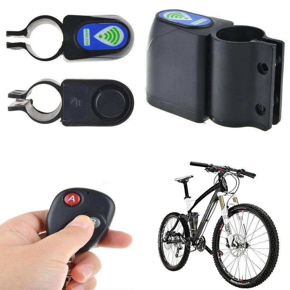 Anti Lost Reminder - Anti-theft, Vibration Alarm Bicycle - Perfect To Protect Your Bicycle Well