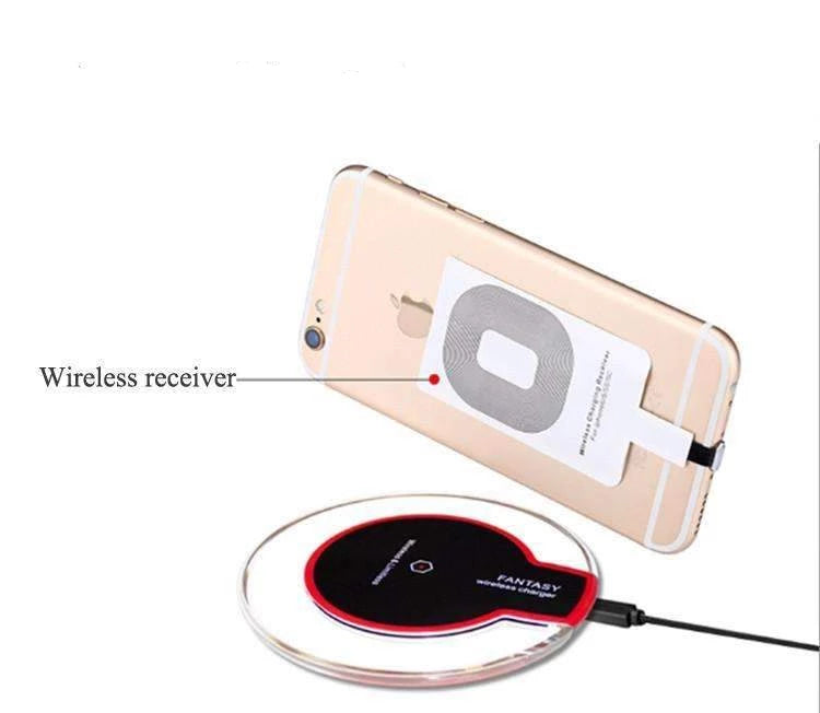Charger - Crystal Charger Station - YES, YOU CAN...Charge Your IPhone Wirelessly!