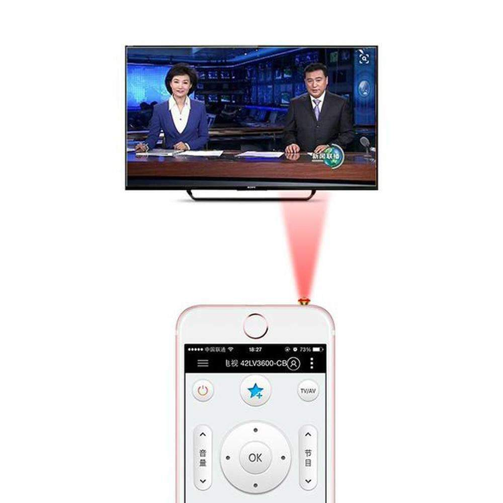 Remote Controls - Infrared Smart Plug - Converts Your Phone Into A Remote Control!