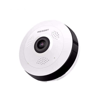 Surveillance Cameras - Fish-eye VR Panoramic 360 Degree Camera