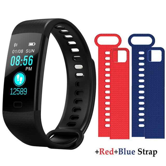 Smart Bracelet Heart Rate Blood Pressure Tracker Fitness Monitor