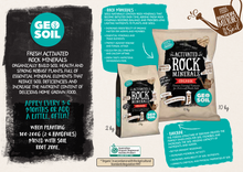 Activated Rock Minerals + Biochar