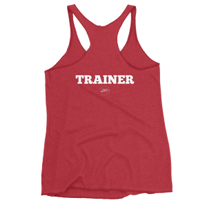 Lack of Time or Priorities Trainer Women's Racerback Tank