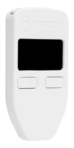Trezor Bitcoin Wallet White