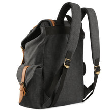 "Plambag Men's Canvas Backpack 15.6"" Laptop Business Travel Rucksack School Bag"