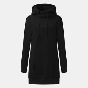 2017 Women Harajuku Tops Coats Womens Hooded Hoodies Sweatshirts Brand Turtleneck Jumpers Casual Dress Long Pullovers Tracksuit