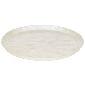 CAPIZ SHELL SERVING TRAY