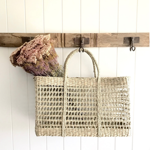 RECTANGLE SEAGRASS BASKET