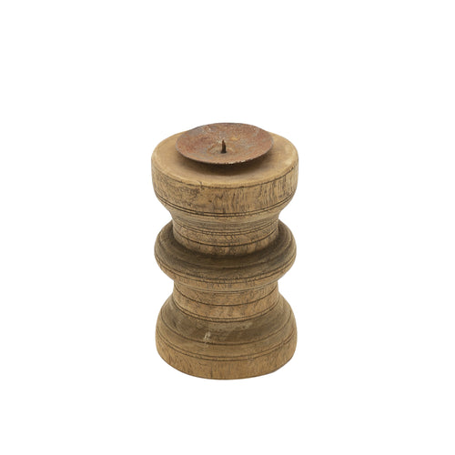 ACID WASH CANDLE HOLDER - D