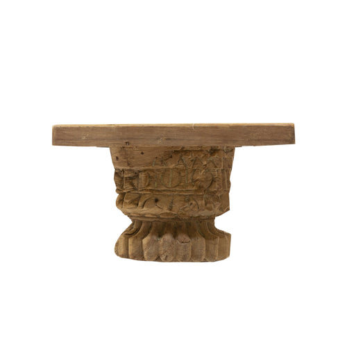 TRIBAL VINTAGE CORBEL WITH SHELF - B