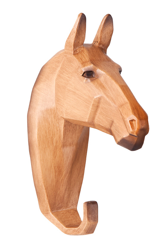 HORSE HANGER WOOD LOOK