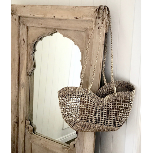 SEAGRASS NET BASKET
