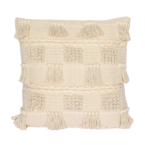 EDIE TEXTURED COTTON CUSHION