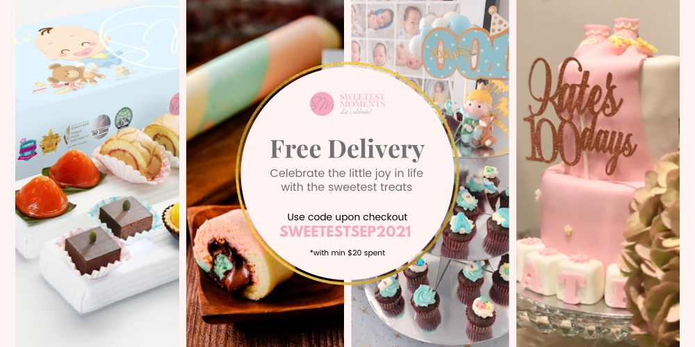Free Delivery for cakes cupcakes pastries carepack cookies popcorns in Sep 2021