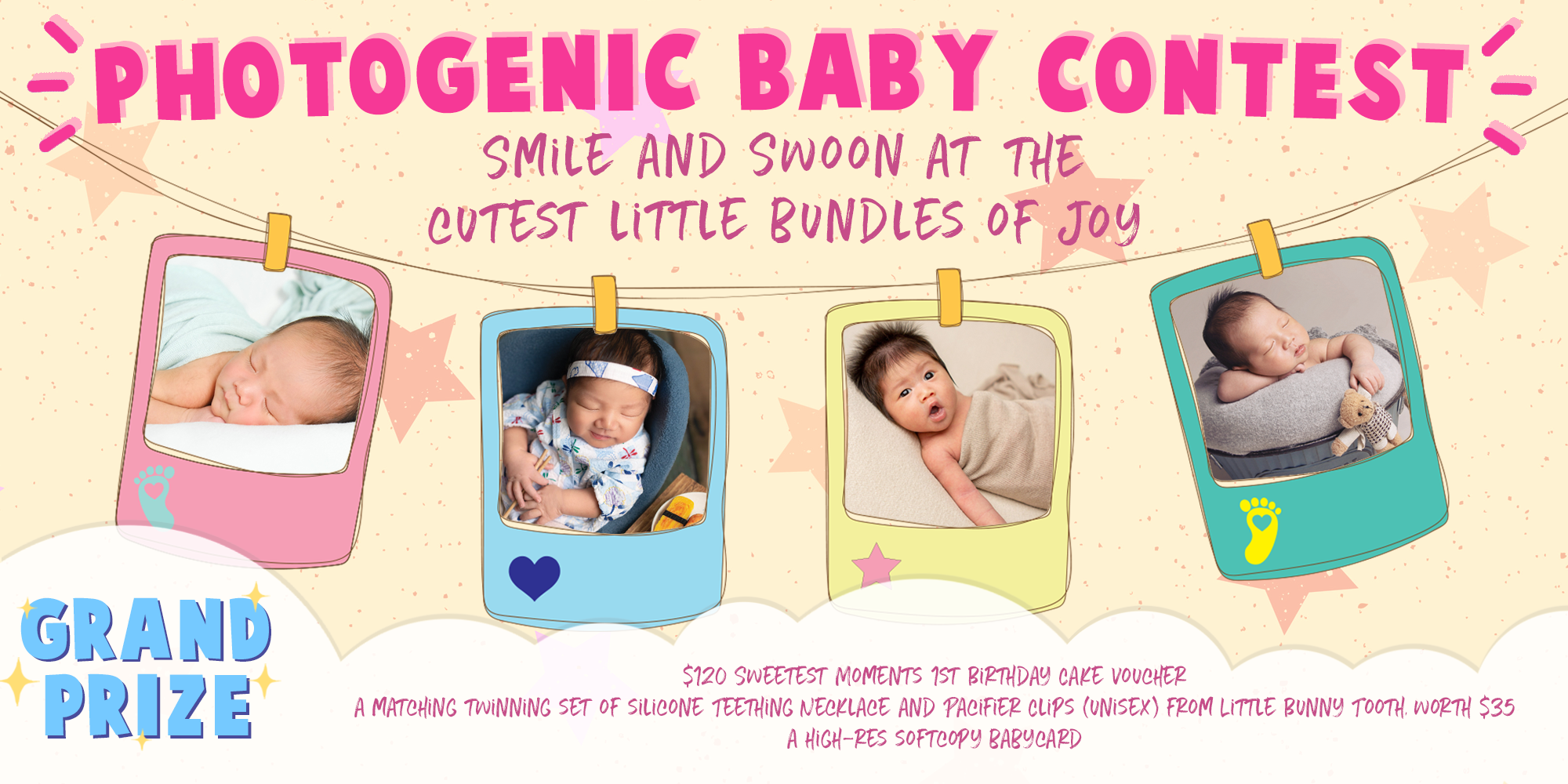 Photogenic Baby Contest 2019 - 2020