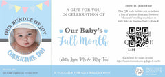 Sweetest Moments Baby Full Month E-Voucher