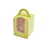 CTI01 Say It With Cupcakes Sweetest Moments Corporate Standard Cupcake Buttercream Fondant Edible Image Thank You Message Door Gifts Individually-Packed Yellow Box