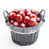 AC15 Bountiful Red Eggs Basket sweetest moments large 50 eggs full month celebration