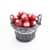 AC15 Bountiful Red Eggs Basket sweetest moments medium 28 eggs full month celebration