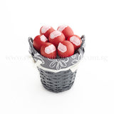 AC15 Bountiful Red Eggs Basket sweetest moments small 12 eggs full month celebration