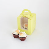 CM08 Baa Baa Cupcakes Sweetest Moments Full Month Mini Cupcake Buttercream Individually-packed yellow sheep